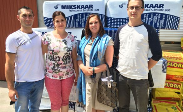 4.07.2017- візит в Україну торфяної компанії з Естонії- Mikskaar