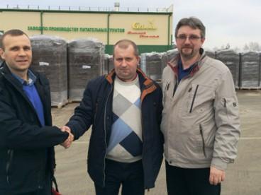 Візит Арокс Кроп на торфопідприємство Глінка (Білорусь)