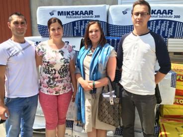 4.07.2017- визит в Украину торфяной компании из Эстонии- Mikskaar